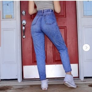 Vintage RIO high waisted mom Jean's